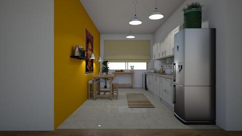 MAM - Kitchen - by victoriaorrhov