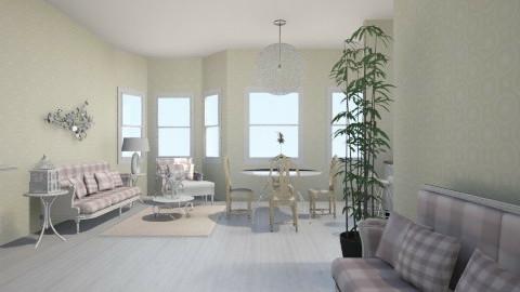 Blanc - Vintage - Living room - by Rasheliz