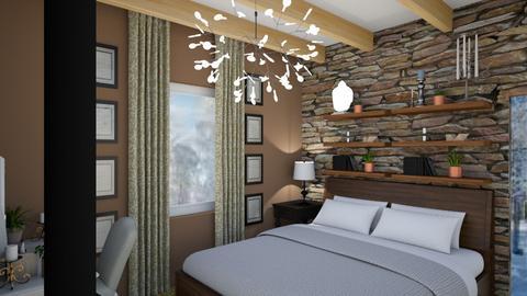 G and Ds bath bedroom - Bedroom - by Renta