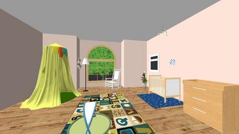 baby nursery - Kids room - by shlushlu