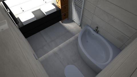 Baie sus  finala - Bathroom - by macoveivioleta18