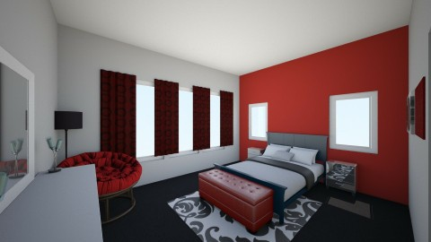 Final Master Bedroom - Bedroom - by Abe Larson