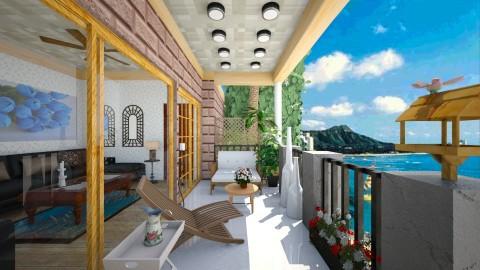 small Balcony - Garden - by Pilita Jabers