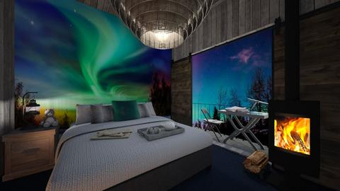 Aurora Borealis - Bedroom - by norcska