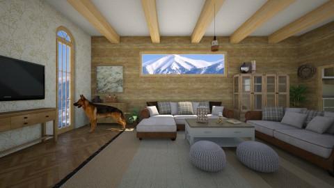Canadian wood - Living room - by 532johanna