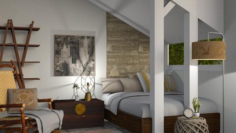 Settle In - Modern - Bedroom - by Gurns