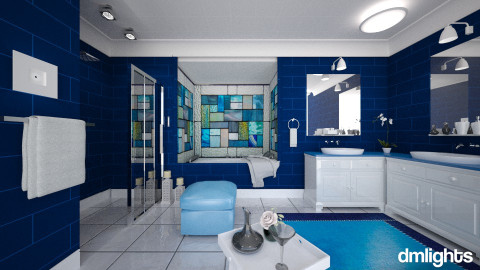 stained - Classic - Bathroom - by DMLights-user-981898
