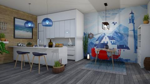 nautical kitchen - Kitchen - by stef_eck