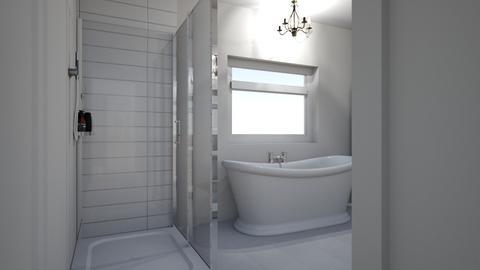 master bath - Bathroom - by hannahkmathenia
