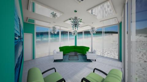 Minimal dream on a beach - Minimal - Living room - by CreativeCreations
