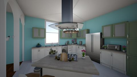 triangle - Kitchen - by evieJ