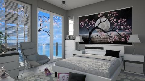 M_Sherry blossom - Bedroom - by milyca8