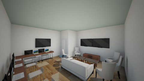 AV Team 18x19 FINAL - Minimal - Office - by IshamJake