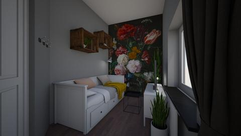 zachte bloemen andere muu - Bedroom - by TRMVM