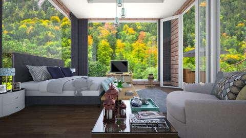 Quarto  - Bedroom - by Roberta Coelho