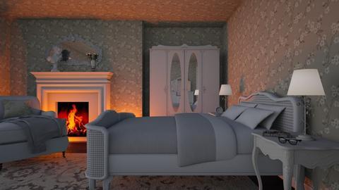 Shabby Chic Bedroom - by Valentinapenta