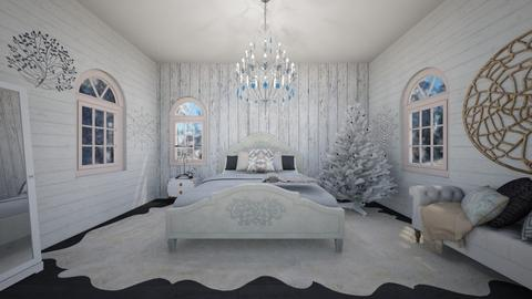 Winter Extravaganza - Vintage - Bedroom - by Joy Mk