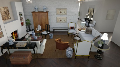 classic living room - by dadearin