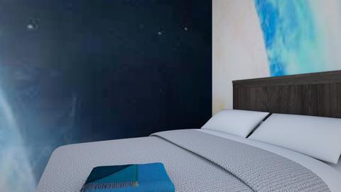 Dream Room - Retro - Bedroom - by LuckyJason