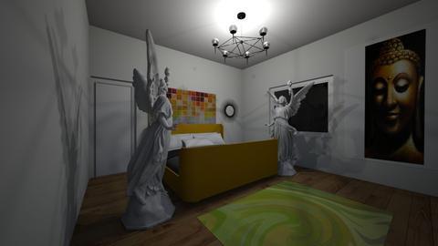 Bedroom Mural - Bedroom - by pepperpodge123
