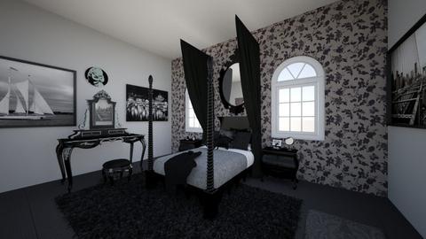 Dorm 3 - Bedroom - by Salkitiy