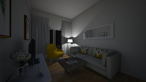 salon - Living room - by wiolcia192