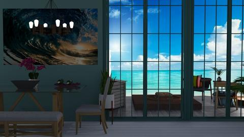 beach dining - Modern - Dining room - by Sue Bonstra