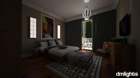Caz and Garry Bedroom  - Rustic - Bedroom - by nina50