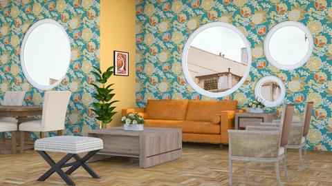 Shapes and Colors - Living room - by millerfam