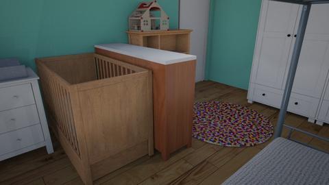 Kinderkamer bunk raam - Minimal - Kids room - by tinegregoor