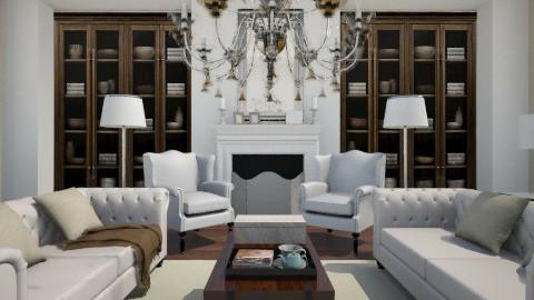 Symmetrical - Living room - by annasig