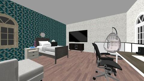 0202 - Bedroom - by leehlopes