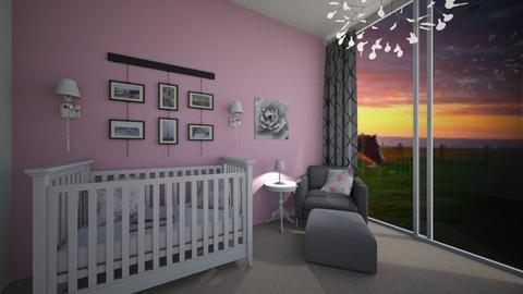 sweet and simple - Feminine - Kids room - by chloe_mccarty