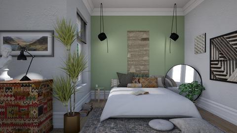 eclectic - Bedroom - by siljaj