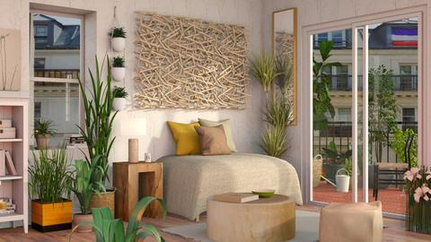Urban Jungle Living - Eclectic - Living room - by Sally Simpson