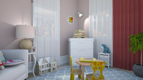 Girls Roomc remix - Kids room - by Inokentijroom