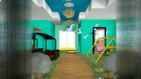 Children Hospital Jungle  - Kids room - by Darcy Tooka Dunham