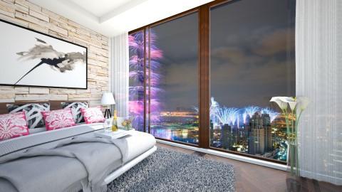 firework - Bedroom - by dddare