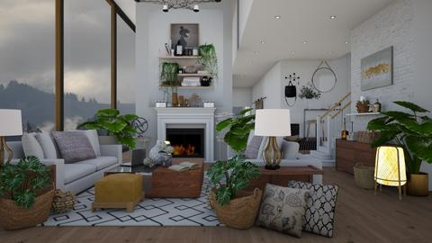 ARTISAN FLOORING REMIX - Living room - by NikolinaB26