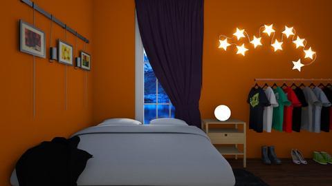 Eclectic Bedroom - Eclectic - Bedroom - by bleeding star