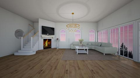 cozy living room - Living room - by Yana Kutsak