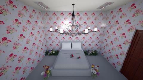 SadnessRose - Bedroom - by Sadness_Rose