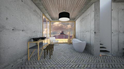 minimalistic design - Modern - Bathroom - by sometimes i am here