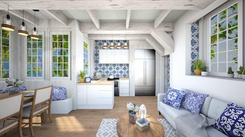 Artisan Flooring - Living room - by Rebekah Pincock