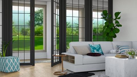 Grand Living - Modern - Living room - by stephendesign