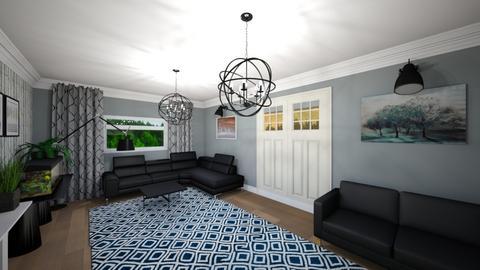 Livingroom v4_2 - Living room - by mtracerz