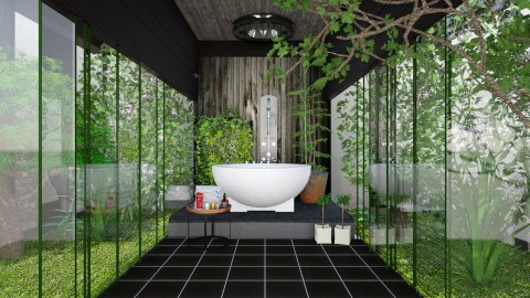min spa  - Modern - Bathroom - by Ida Dzanovic