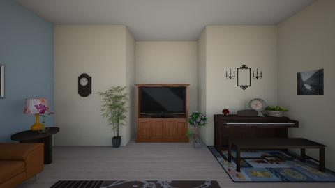 Living room wall 1 - Living room - by hannahpotterjoy