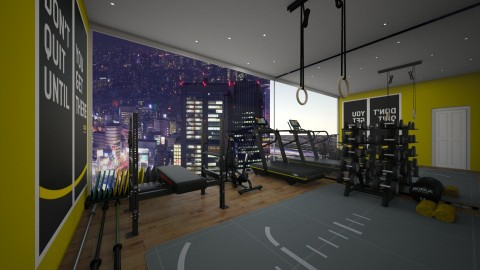 K workout room - by Katiewaldo7