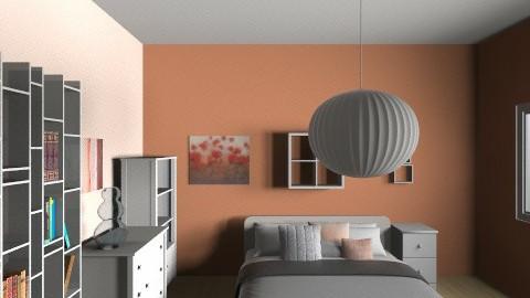 Pink mod - Minimal - Bedroom - by jeushalumley